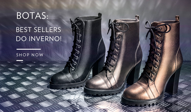 Botas: Best Sellers do Inverno! - Shop Now!